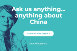 Ask us anything… anything about China