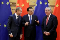 APRIL 9, 2019:  21st EU China Summit, Brussels