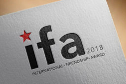 OCT 30, 2019: 3rd International Friendship Award, Barcelona
