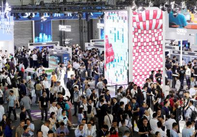 JUN 30, 2020: Mobile World Congress Shanghai