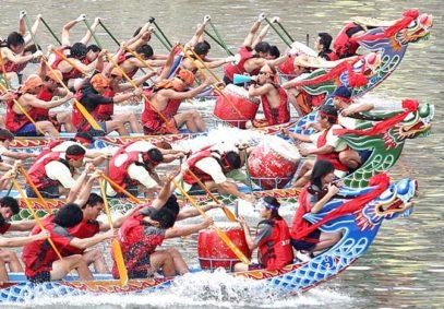 JUN 25, 2020: Dragon Boat Festival