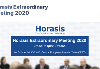 OCT 1, 2020 Horasis 2020 The New Unicorn Ventures