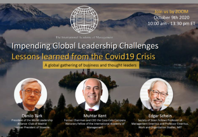 OCT 9 , 2020  IAM Global Forum Impending Global Leadership Challenges