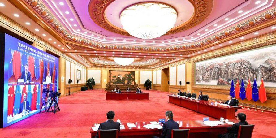 In Principle China EU Investment Agreement